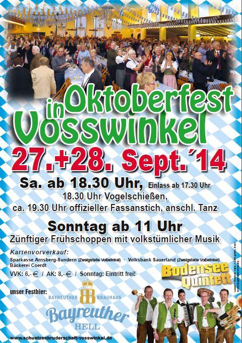 Flyer Oktoberfest