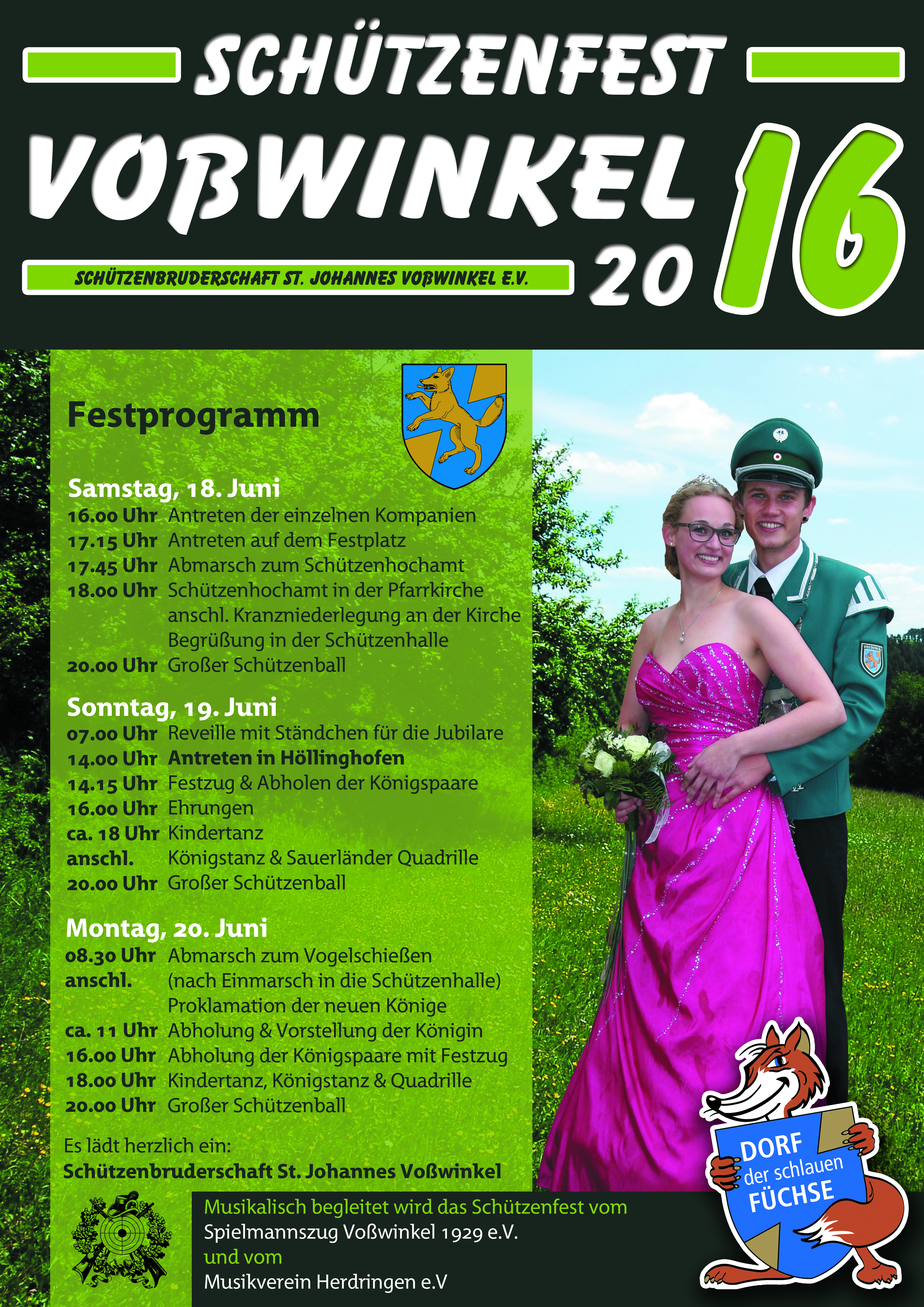Plakat Schützenfest2016