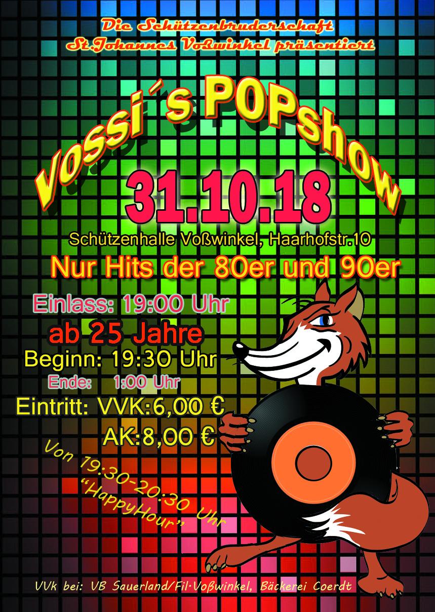 Plakat Vossis popshow18 Kopie
